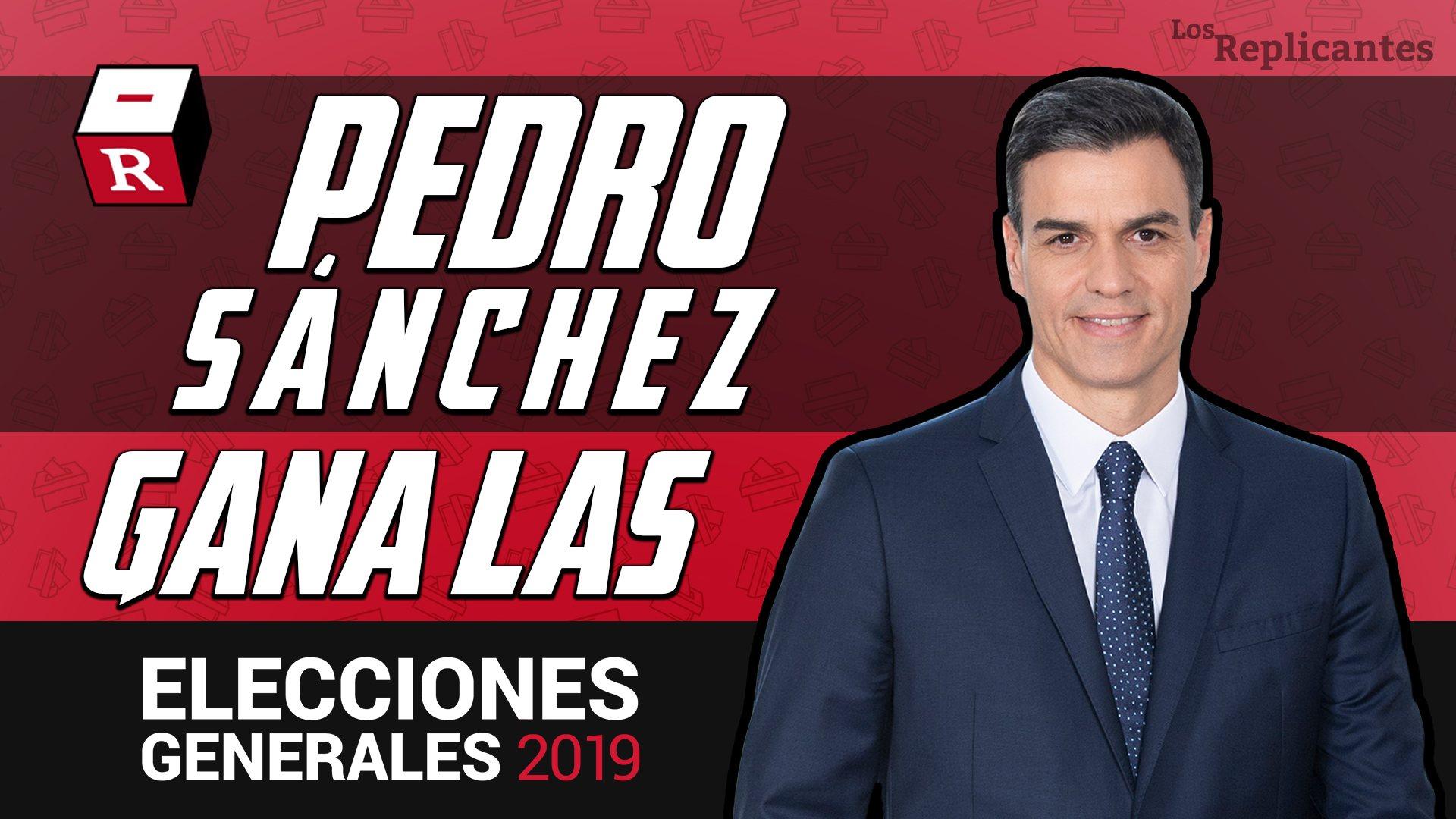 Pedro Sánchez gana las elecciones: El PSOE obtiene 122 escaños