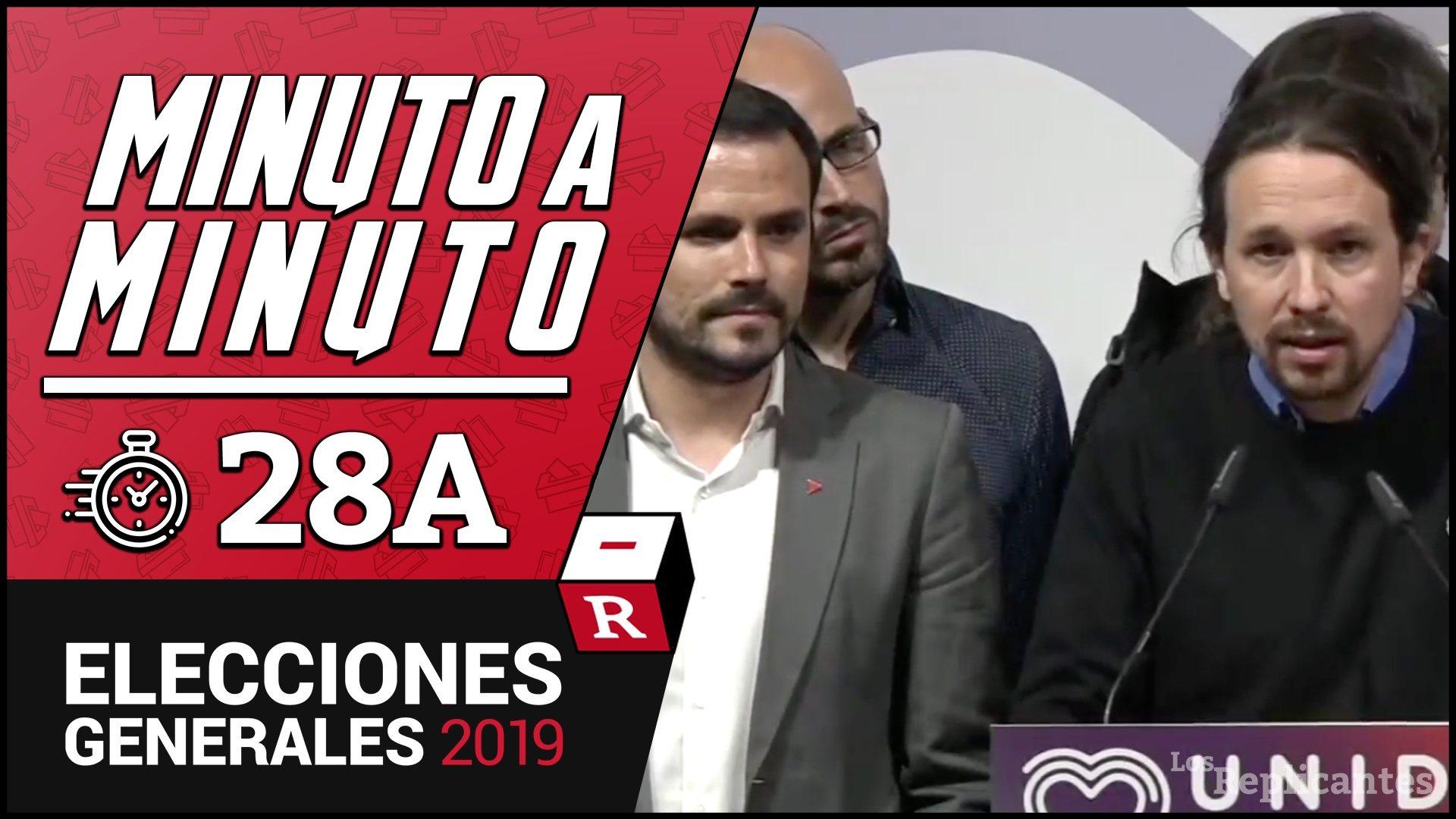 Pablo Iglesias tiende la mano a Pedro Sánchez para formar Gobierno y celebra la derrota de la derecha
