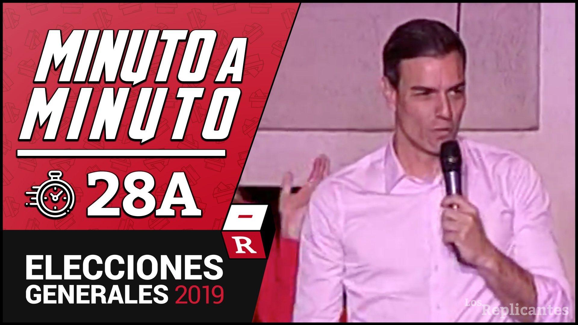 Pedro Sánchez, eufórico tras ganar las elecciones: