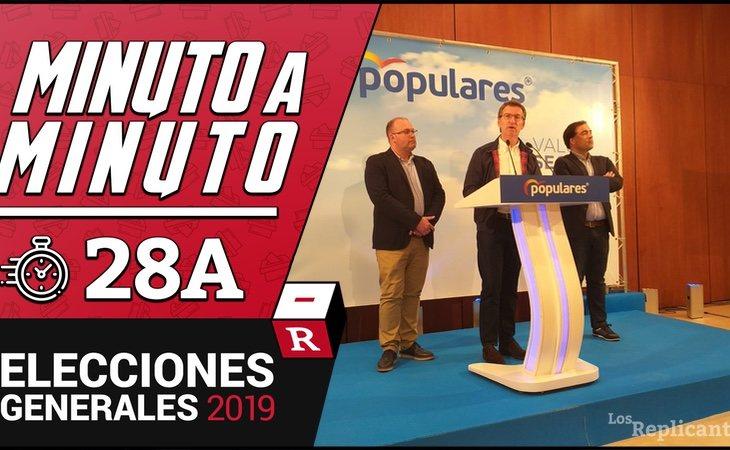 Feijóo, el eterno sucesor de Rajoy, comparece para asegurar que VOX no tiene representación en Galicia porque le ha ninguneado y felicita a ...