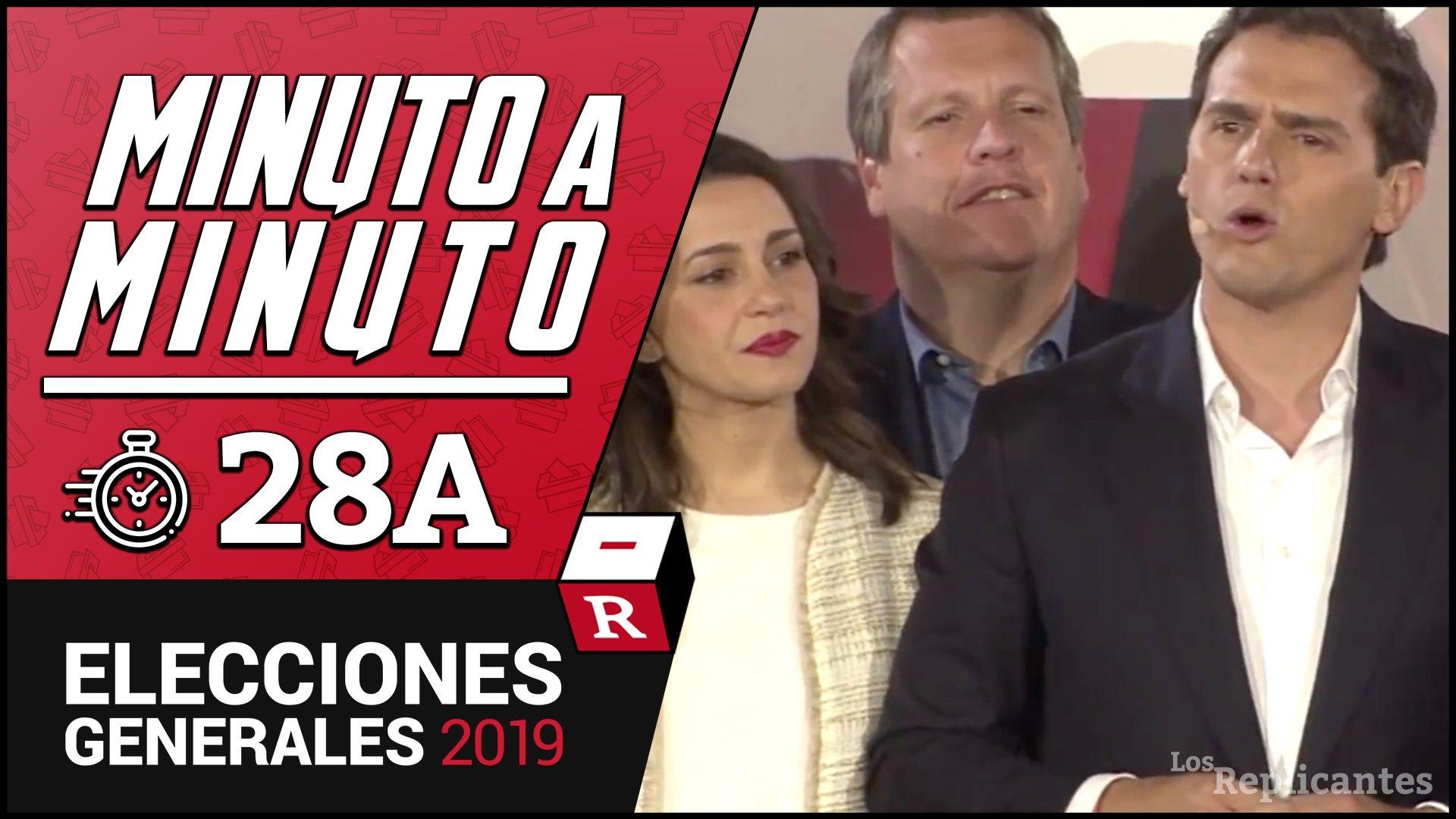 Albert Rivera celebra sus resultados pero lamenta que