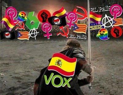 """""""Comienza la batalla"""" contra personas LGTBI o feministas: así celebra VOX las elecciones"""