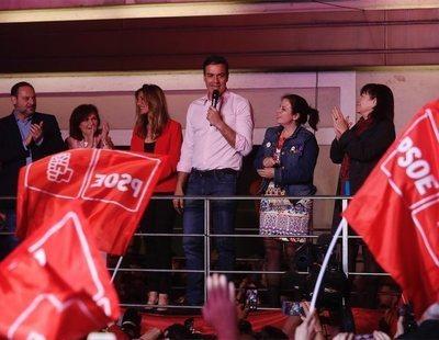 Pedro Sánchez gana las elecciones y casi dobla al PP