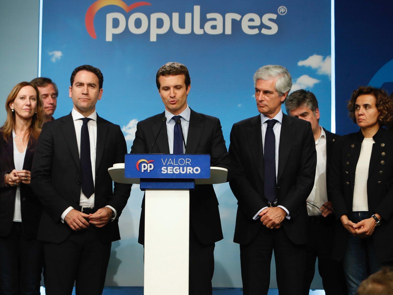 Causas de la debacle histórica del PP de Pablo Casado