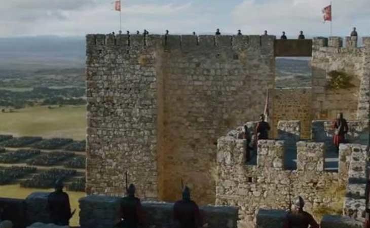 Alcazaba de Trujillo como Roca Casterly