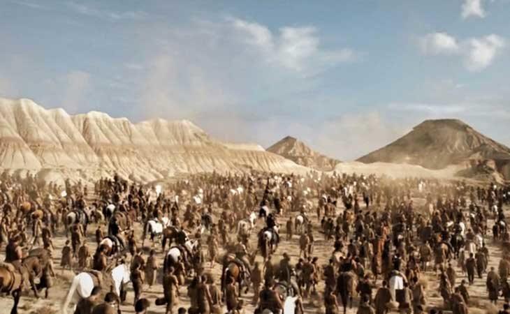El Mar Dothraki en las Bardenas Reales