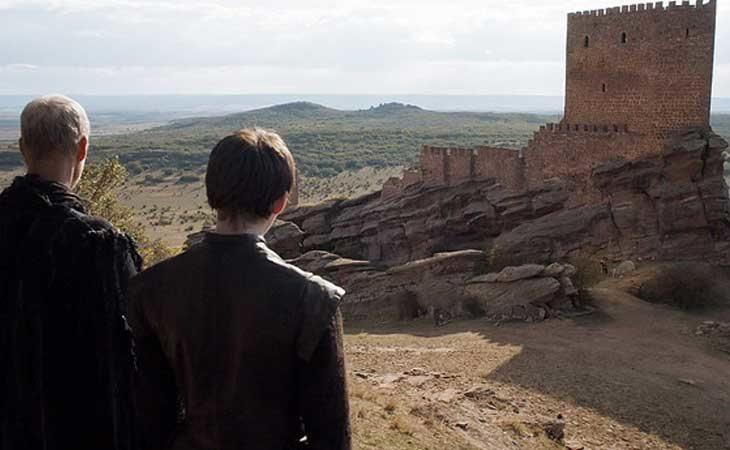 El Castillo de Zafra es la Torre de la Alegría