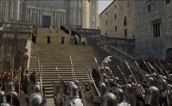 Girona uno de los escenarios de 'Juego de Tronos'