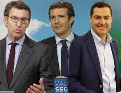 Juanma Moreno y Feijóo: los nombres que suenan como relevo para Pablo Casado