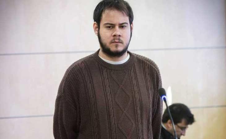 Pablo Hasél durante su juicio de enaltecimiento del terrorismo