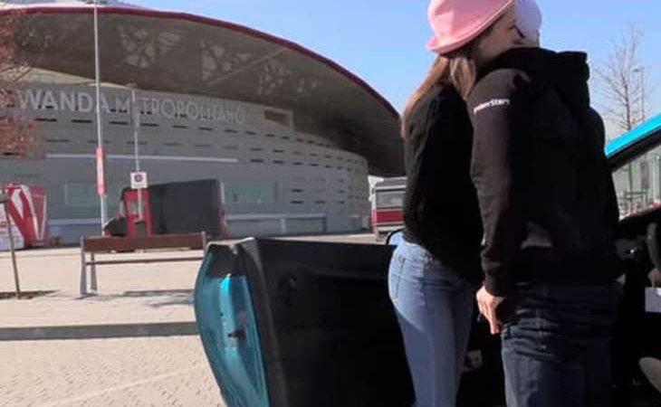 Escena porno grabada en el Wanda Metropolitano por Torbe