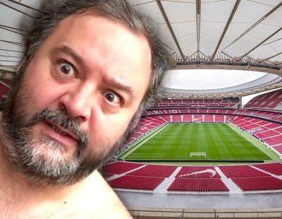 Pillan a Torbe grabando una escena porno en el Wanda Metropolitano
