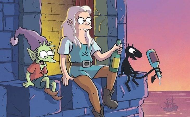 La princesa Bean junto a Elfo y Luci