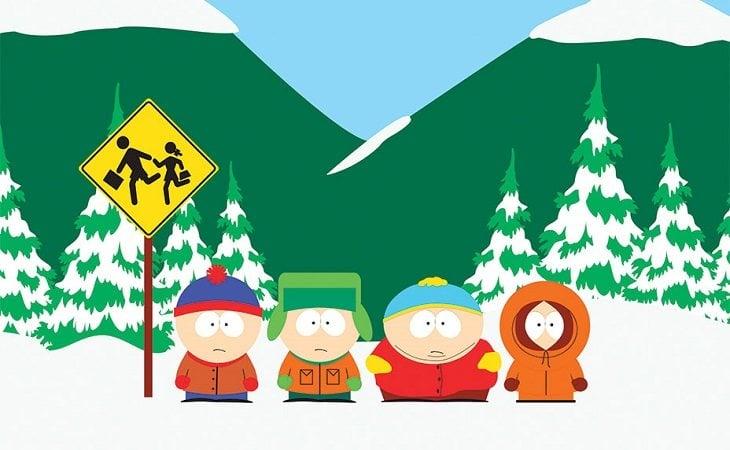 Stan, Kyle, Eric y Kenny