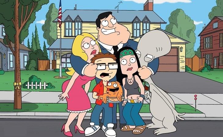 Familia protagonista de 'American Dad'