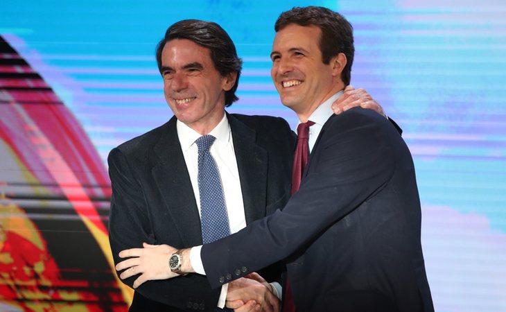 Pablo Casado, pupilo de José María Aznar