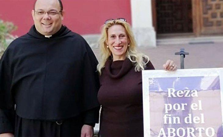 Enríquez es una firme defensora de la prohibición del aborto