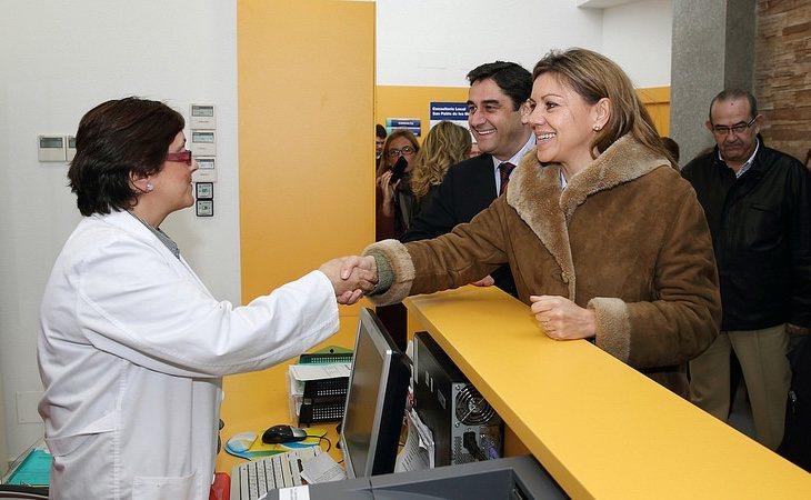 Cospedal ejecutó un fuerte recorte en la Sanidad de Castilla-La Mancha con el mismo gerente que ahora se encuentra al frente del SAS | Foto: JCLM