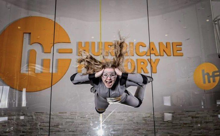 La llegada de experiencias como los túneles de viento en los centros comerciales, suponen un atractivo en plena crisis del 'retail' | Foto: Hurricane Factory