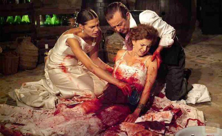 La boda de Silvia y Pepa en 'Los hombres de Paco' no tuvo un final feliz