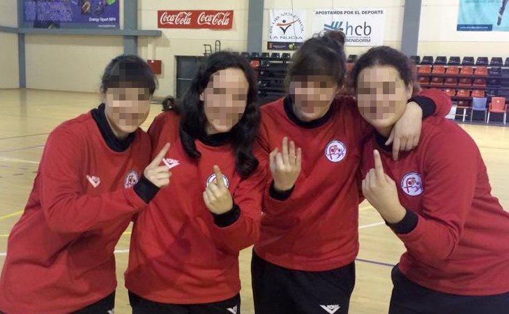 Natalia jugaba al fútbol sala de forma profesional | Facebook
