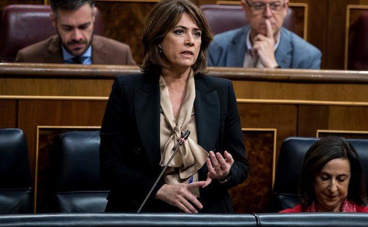 Dolores Delgado ha sido ministra de Justicia desde la moción de censura de Pedro Sánchez