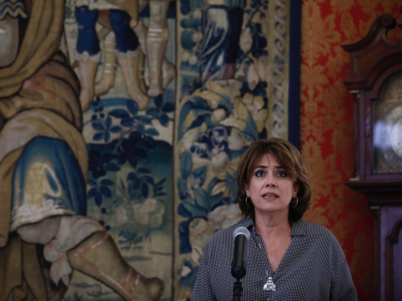 Delgado podría perder el Ministerio de Justicia por los audios de Villarejo