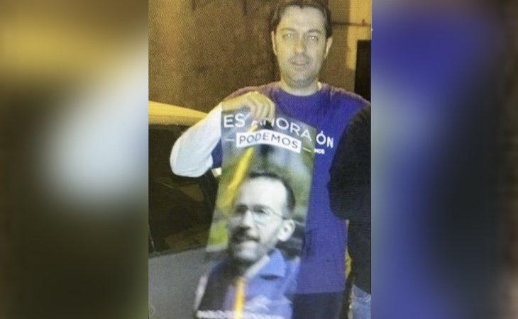 Javier Moya Mayor paso de apoyar a Podemos a liderar las listas de VOX en Tarazona