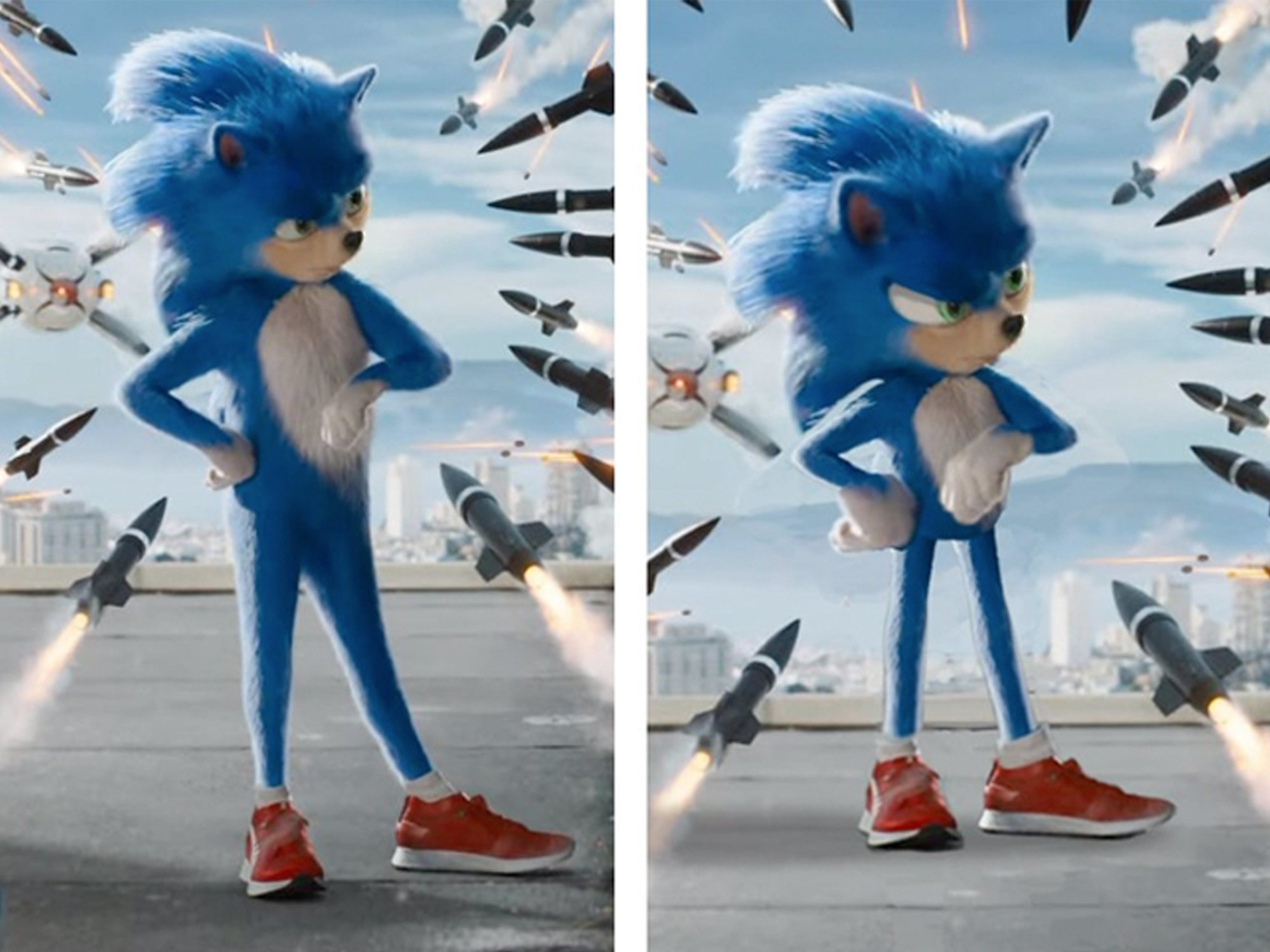 El director de la película de Sonic cambiará el diseño del personaje tras las críticas