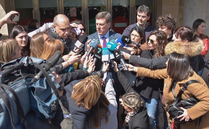 El padre de Diana Quer acudió al juicio por el caso de Boiro