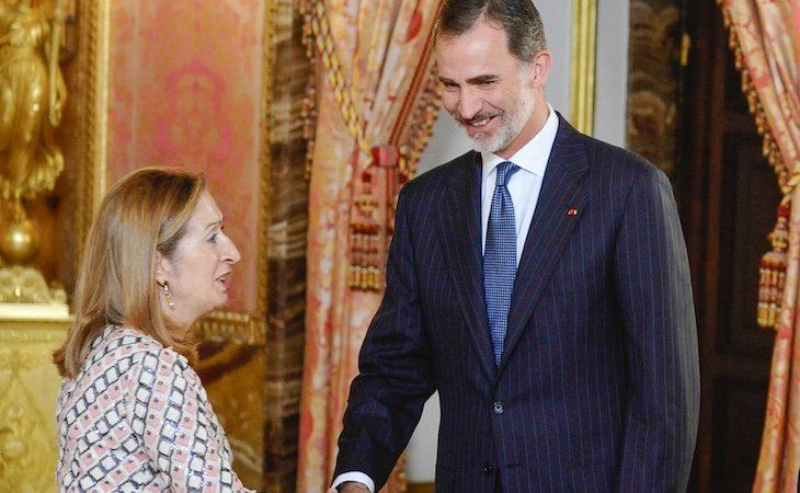 La presidenta del Congreso, Ana Pastor, descubrirá el retrato del rey Felipe VI