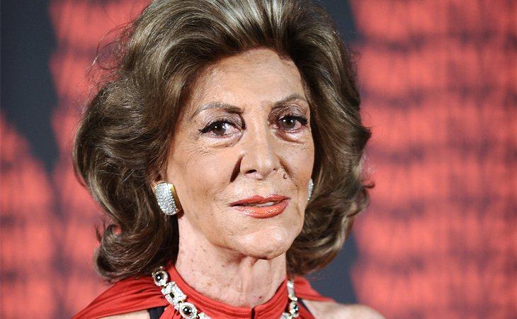 Pitita Ridruejo, durante una gala en 2011