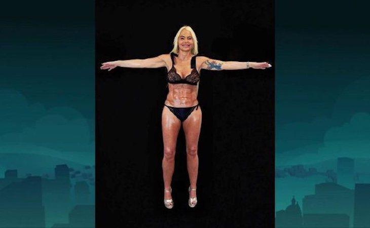 El resultado final de Leticia Sabater tras retocarse todo el cuerpo