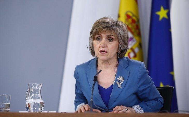 María Luisa Carcedo, la ministra de Sanidad, ha presidido el Consejo Interterritorial