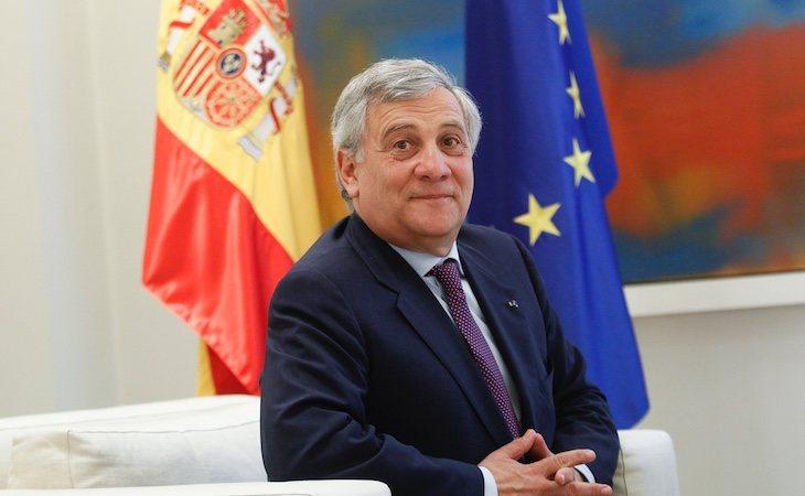 Antonio Tajani es el presidente del Parlamento Europeo