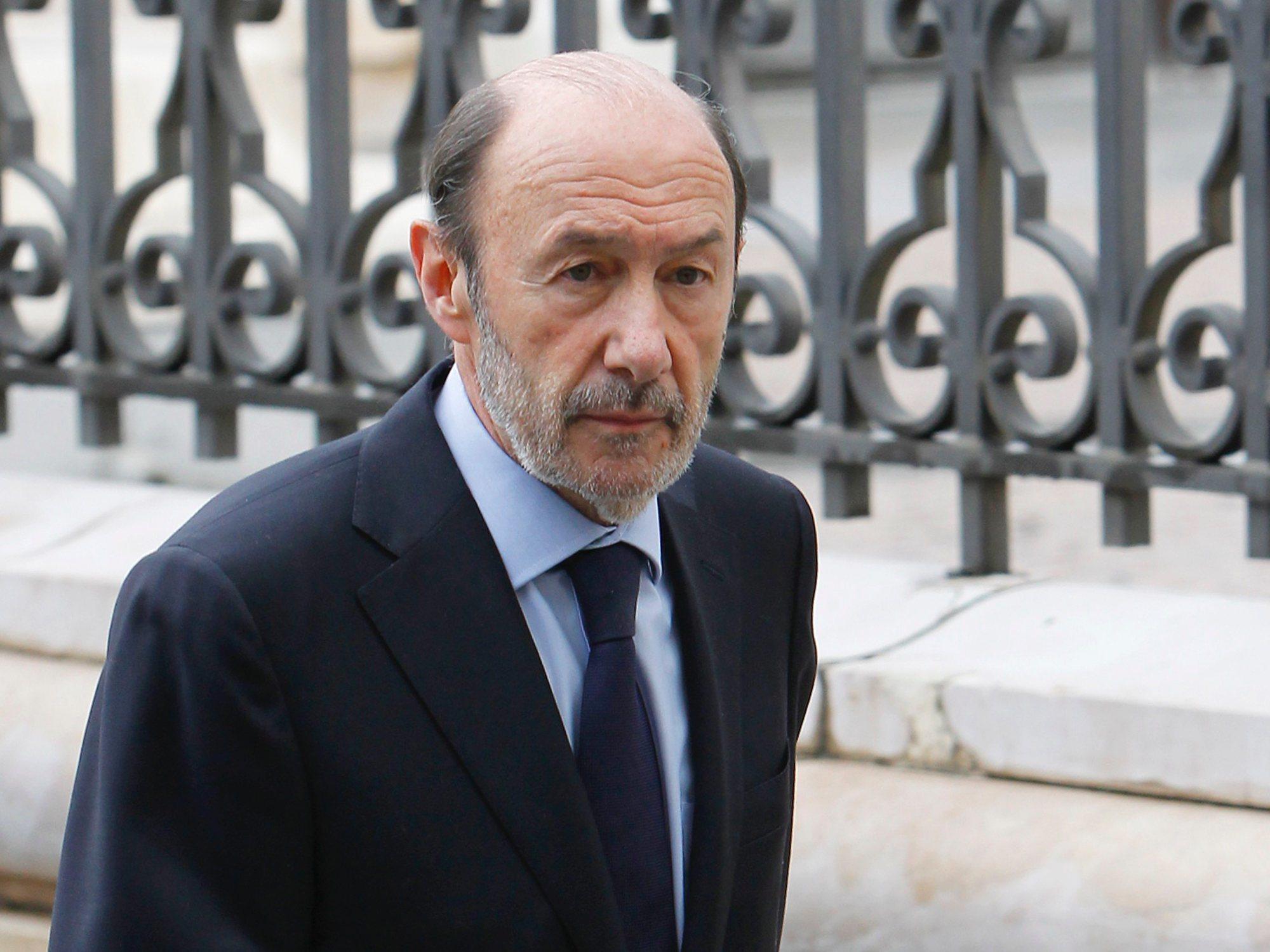 Muere Alfredo Pérez Rubalcaba tras no superar el ictus
