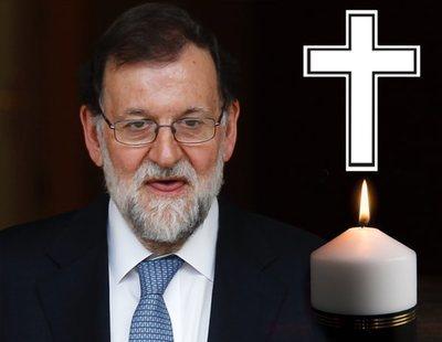 El Twitter de Mariano Rajoy se ha convertido en una deprimente necrológica