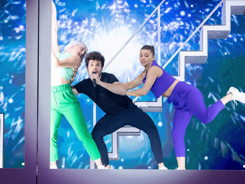 España borda el segundo ensayo y actuará en la segunda mitad de la final de Eurovisión
