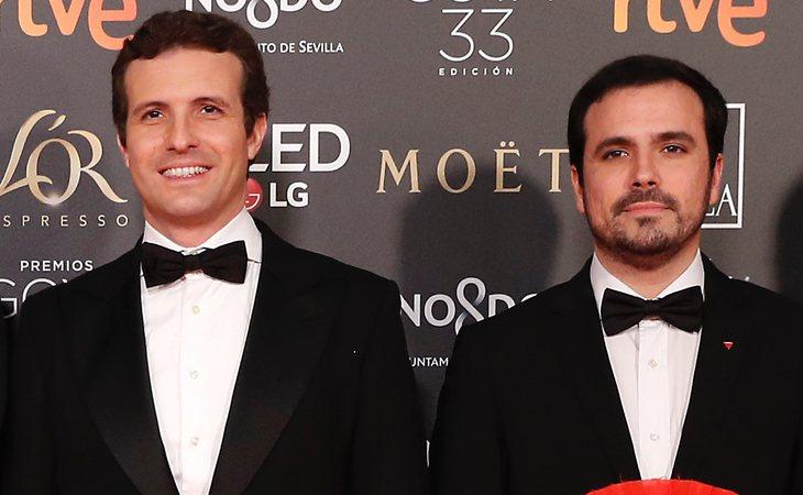 Pablo Casado y Alberto Garzón