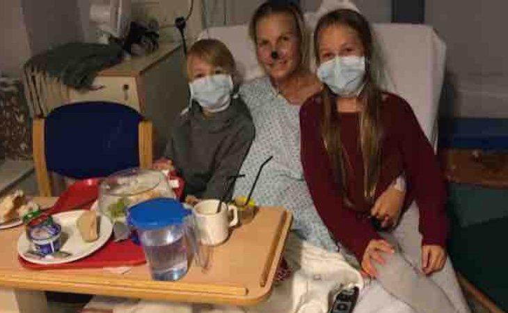 Lydia Galbally pasó ocho semanas en aislamiento