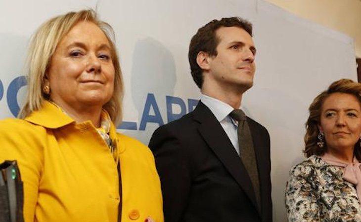 Cherines se ha mostrado crítica con los resultados del PP en las elecciones generales