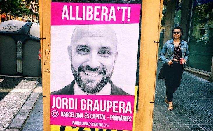 Jordi Graupera es uno de los candidatos a la alcaldía de Barcelona