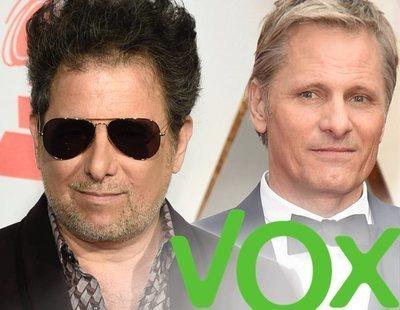 Andrés Calamaro ataca a Viggo Mortensen por haber criticado a VOX