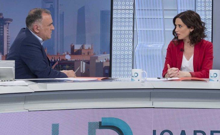 Diaz Ayuso acudió a 'Los Desayunos de TVE' donde habló sobre el desplante a los empresarios