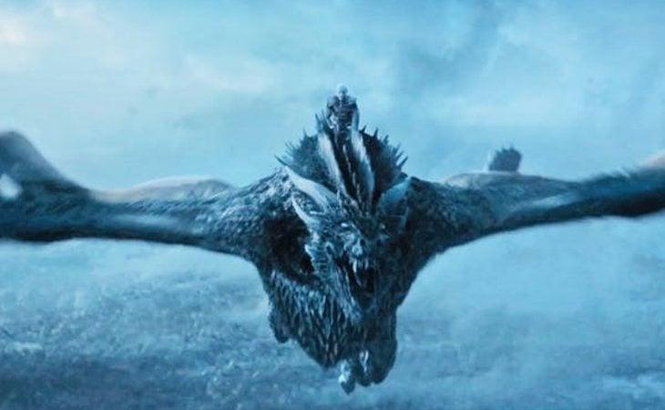 Viserion, dragón de Daenerys Targaryen, acabó en manos del Rey de la Noche