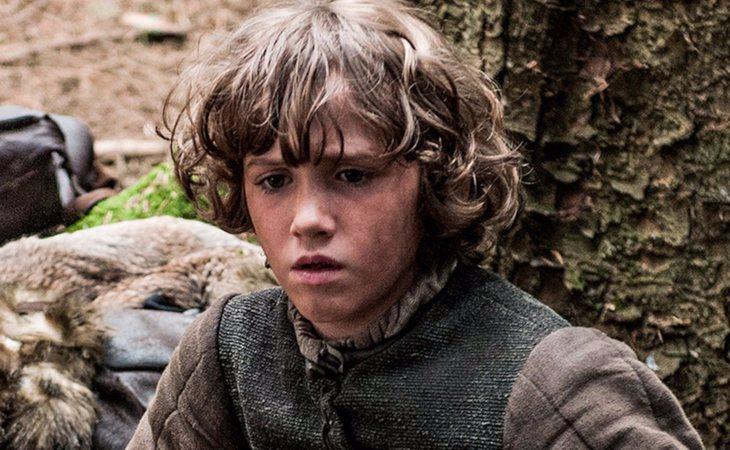 Rickon Stark, el más pequeño de la familia