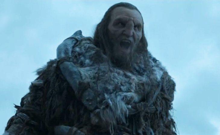 Wun Weg Wun Dar Wun luchó al lado de los Stark en la Batalla de los Bastardos