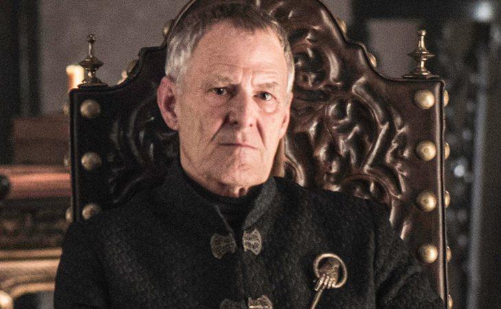 Kevan Lannister due Mano del Rey Tommen Baratheon