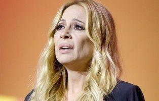 Marta Sánchez, obligada a suspender su concierto en Badalona por lanzamiento de huevos
