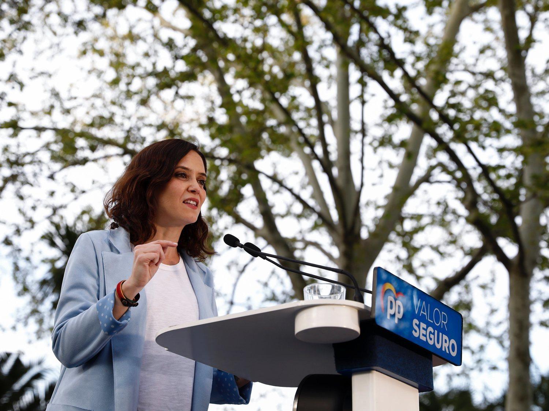 El auge de C's y VOX prevé que Díaz Ayuso sea la próxima presidenta, según las encuestas